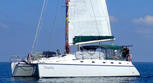 Bahamas private yacht rental catamarans