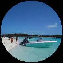 Bahamas Swimming Pig Tours -Crewed Sailing Charter Vacation